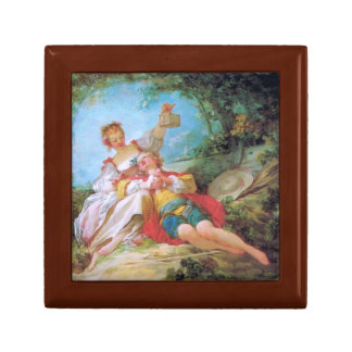 The Happy Lovers Small Square Gift Box