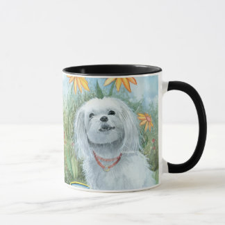 The Happy Maltese Mug