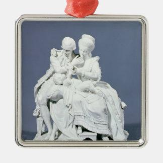 The Happy Parents, Meissen, c.1770 Christmas Ornament