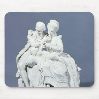 The Happy Parents, Meissen, c.1770 Mouse Pad