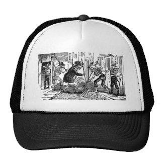"""The Happy Street Cleaner Calaveras"" Trucker Hats"