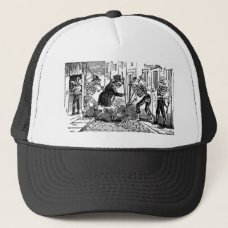 """The Happy Street Cleaner Calaveras"" Trucker Hat"