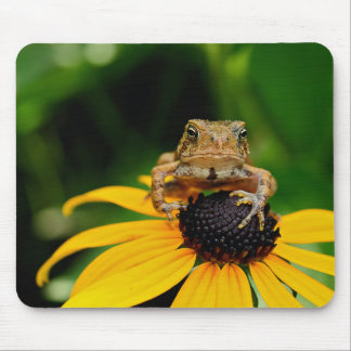 The Harbinger - Toad on Black-Eyed Susan Mousepad