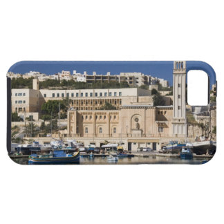 The harbor and church at Marsaskala on the Case For The iPhone 5