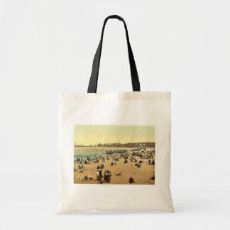 The harbor, I., Margate, England classic Photochro Canvas Bag