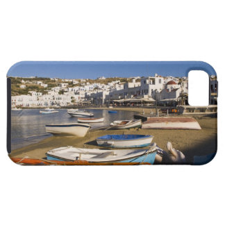 The harbor town with colorful fishing boats iPhone 5 cases