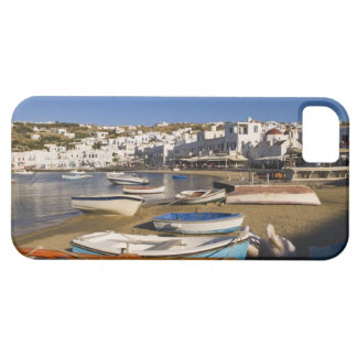 The harbor town with colorful fishing boats iPhone 5 case