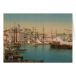 The Harbour at Cannes, France Greeting Card