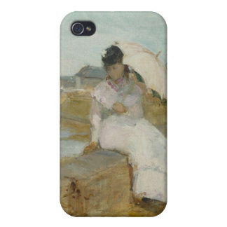The Harbour at Lorient, 1869 (oil on canvas) iPhone 4 Case