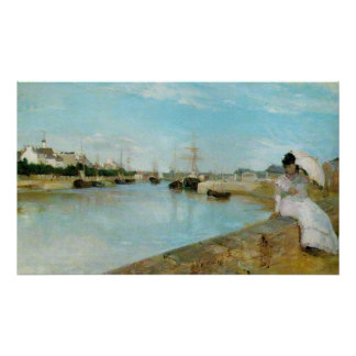 The Harbour at Lorient Print