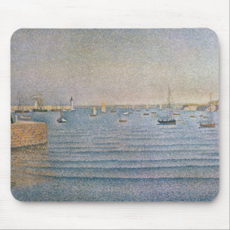 The Harbour at Portrieux, 1888 Mouse Mat