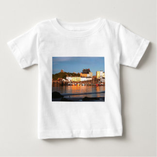 The Harbour At Tenby, South Wales Baby T-Shirt