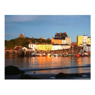 The Harbour At Tenby, South Wales Postcard