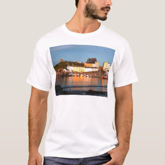 The Harbour At Tenby, South Wales T-Shirt