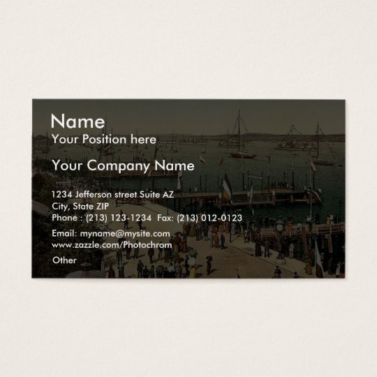 The harbour, III., Kiel, Schleswig-Holstein, Business Card