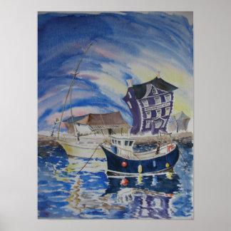 The Harbourmaster, Aberaeron Poster