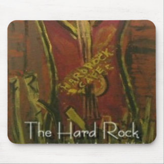 THE HARD ROCK MOUSE PAD