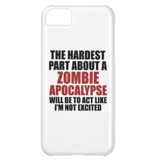 The Hardest Part About A Zombie Apocalypse iPhone 5C Case
