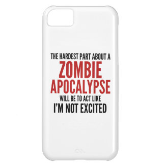 The Hardest Part About A Zombie Apocalypse Case For iPhone 5C