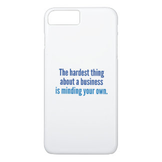 The Hardest Thing iPhone 7 Plus Case