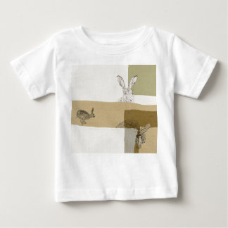 The Hare and the Tortoise An Aesop's Fable Baby T-Shirt