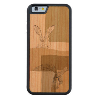 The Hare and the Tortoise An Aesop's Fable Carved Cherry iPhone 6 Bumper Case