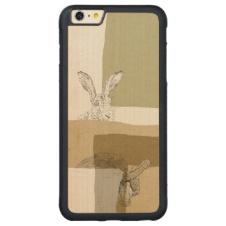 The Hare and the Tortoise An Aesop's Fable Carved® Maple iPhone 6 Plus Bumper Case