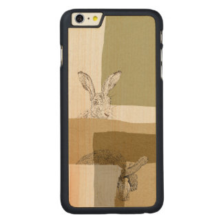 The Hare and the Tortoise An Aesop's Fable Carved® Maple iPhone 6 Plus Case