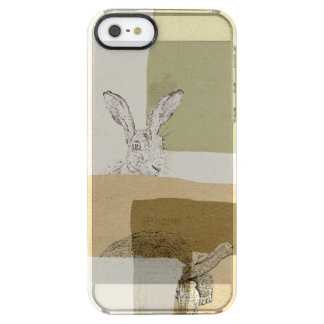 The Hare and the Tortoise An Aesop's Fable Clear iPhone SE/5/5s Case