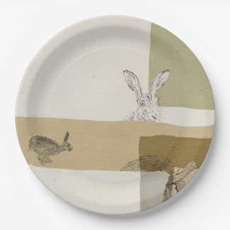 The Hare and the Tortoise An Aesop's Fable Paper Plate