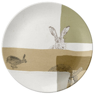 The Hare and the Tortoise  An Aesop's Fable Plate