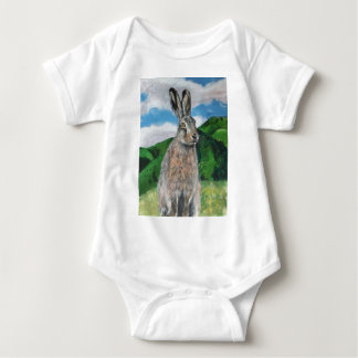 The Hare Baby Bodysuit