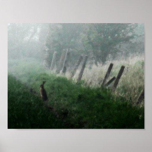 """The Hare I Saw in My Dream""  Art Print"