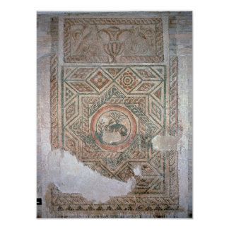 The Hare mosaic, 350 AD Poster