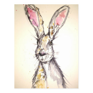 The Hare Postcard