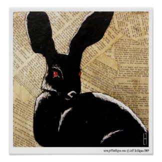 The Hare Print