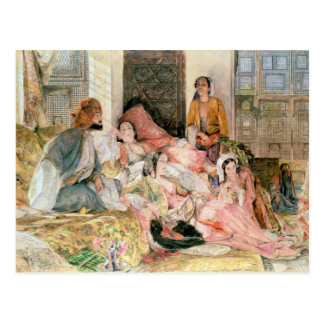 The Harem, c.1850 Postcard