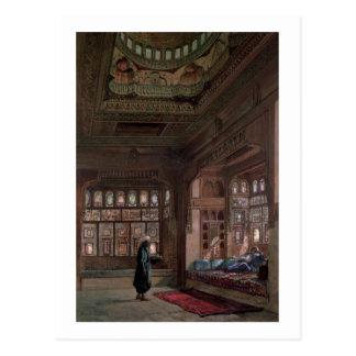 The Harem of Sheikh Sadat, Cairo, 1870 Postcard