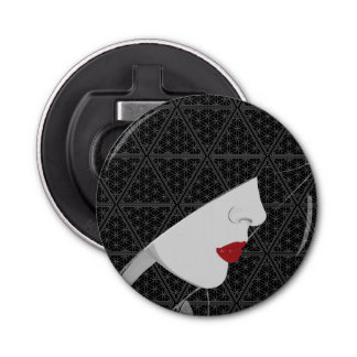 The Harem Woman & Pattern Magnetic Bottle Opener