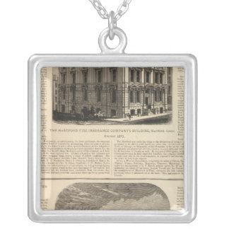 The Hartford Fire Insurance Company Silver Plated Necklace