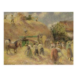 The Harvest, 1883 Postcard