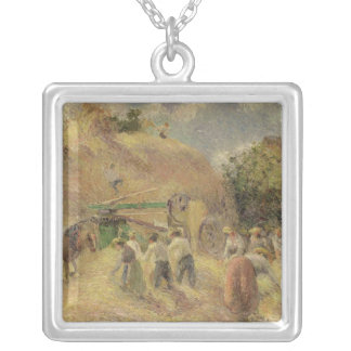 The Harvest, 1883 Silver Plated Necklace