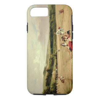 The Harvest Field (oil on canvas) iPhone 8/7 Case