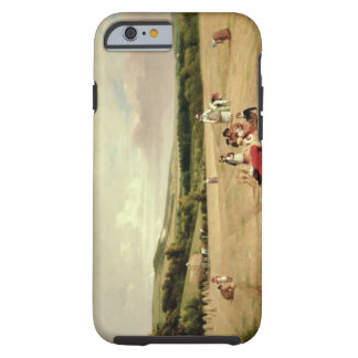 The Harvest Field (oil on canvas) Tough iPhone 6 Case