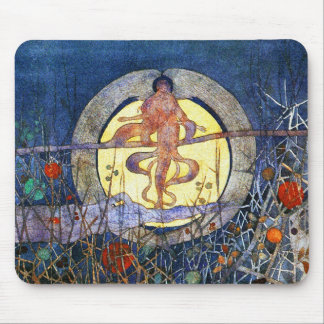 The Harvest Moon - Charles Rennie Mackintosh Mouse Pad
