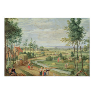 The Harvest, or Summer Poster