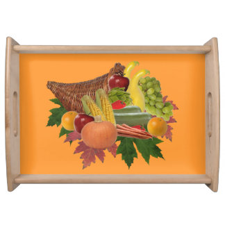 The Harvest Serving Tray