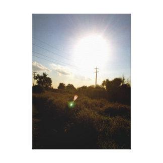 The Harvest Sun Canvas Print