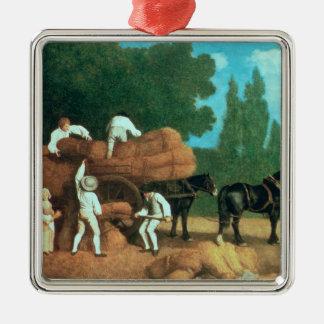 The Harvest Wagon Christmas Ornament