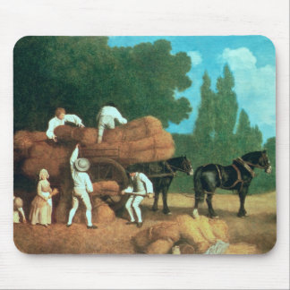 The Harvest Wagon Mouse Mat